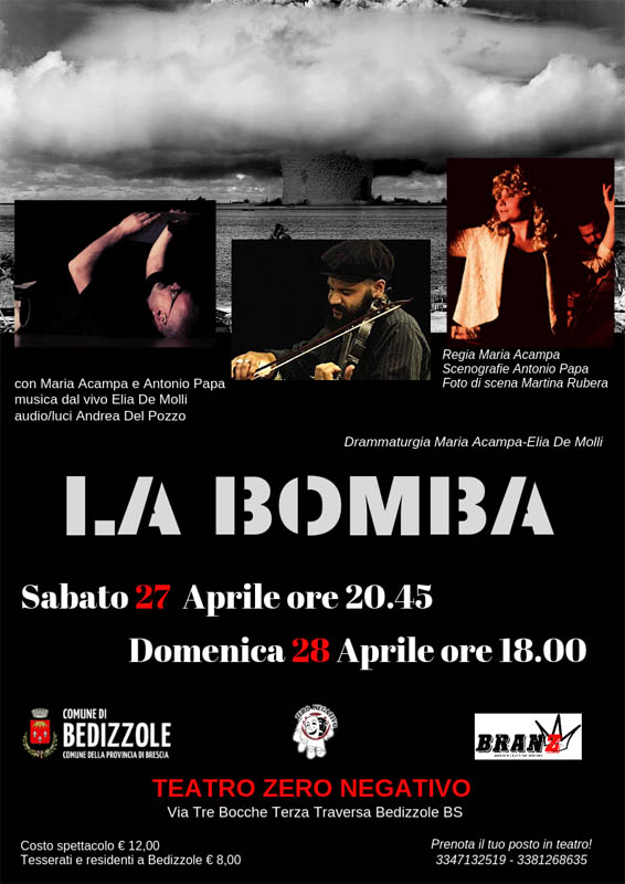 "theatrical show ""the bomb"""